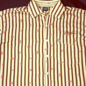 Phat Farm Men's Button Shirt French Cuffs Sz XXXL